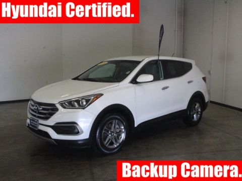 Certified Pre-Owned 2018 Hyundai Santa Fe Sport 2.4 Base FWD 4D Sport Utility