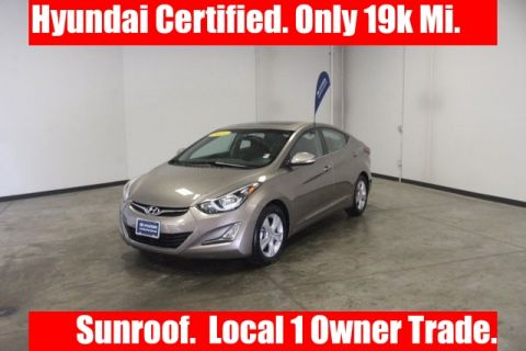 Certified Pre-Owned 2016 Hyundai Elantra Value Edition FWD 4D Sedan