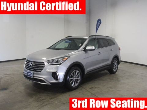 Certified Pre-Owned 2018 Hyundai Santa Fe SE FWD 4D Sport Utility