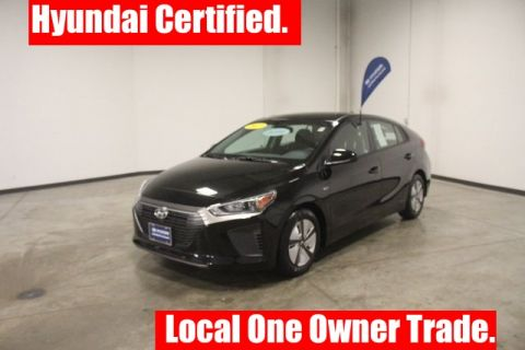 Certified Pre-Owned 2017 Hyundai Ioniq Hybrid Blue FWD 4D Hatchback